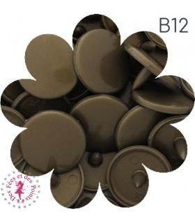 Pressions KAM - Rondes T5 Brillantes - Violine - B56