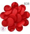 Pressions KAM - Rondes T5 Brillantes - Rouge - B38