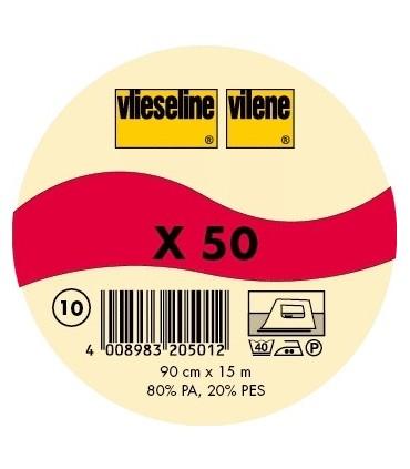 """Entoilage """"X50"""" (par 50 cm)"""