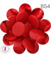 Pressions KAM - Rondes T5 Brillantes - Rouge Intense - B54