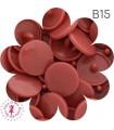 Pressions KAM - Rondes T5 Brillantes - Bois de Rose - B15