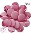 Pressions KAM - Rondes T5 Brillantes - Rose - B57