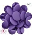 Pressions KAM - Rondes T5 Brillantes - Lavande - B28