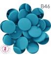 Pressions KAM - Rondes T5 Brillantes - Turquoise - B46