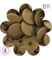 Pressions KAM - Rondes T5 Brillantes - Bronze Or - B11
