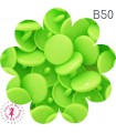 Pressions KAM - Rondes T5 Brillantes - Vert Flashy - B50