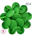 Pressions KAM - Rondes T5 Brillantes - Vert Printemps - B14