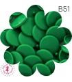 Pressions KAM - Rondes T5 Brillantes - Vert Trèfle - B51