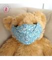 Masque de protection Anti buée - Bulles bleues - Taille L