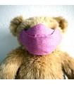 Masque de protection Anti buée - Grafic Rose - Taille M - Femme/Ado