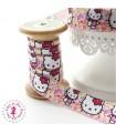 Elastique ruban - Hello Kitty ! - 15 mm