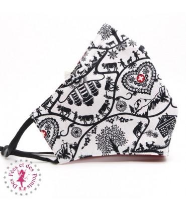 Masque de protection avec poche pour filtre - Poya - Taille L - Homme