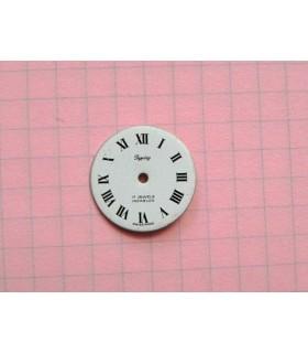 Cadran de montre romain n°1 - 18 mm