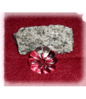 Fleur en verre - 20 mm de diamètre