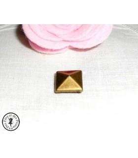"""Pied de sac - """"Pyramide"""" - Bronze antique"""
