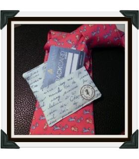 "Porte-Cartes - ""Gentleman"" - Version papier"