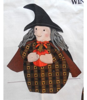 "Panneau ""Winnie the Witch"""