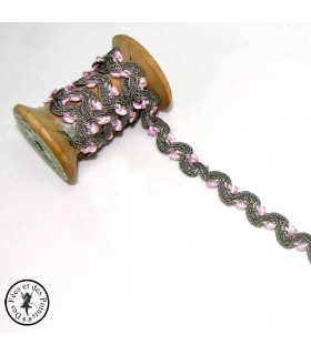 "Croquet ""Serpentine"" - 10 mm - Gris"