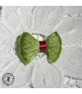 Noeud - Vert / Rouge