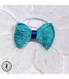 Noeud - Turquoise / Bleu