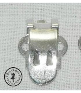 Pince à chaussure  métal - gris - grande