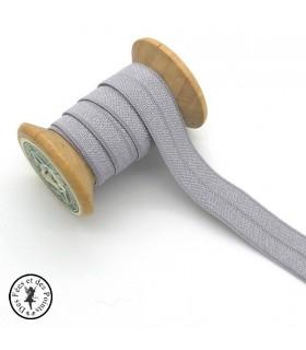 Elastique ruban - Gris - 15 mm