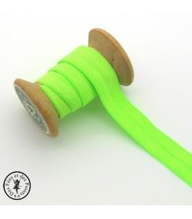 Elastique ruban - Vert clair - 15 mm