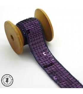 Ruban Sequins - Ultra Violet - 20 mm