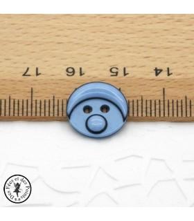 Boutons Smarties - Bleu ciel