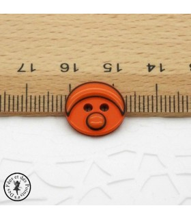Boutons Smarties - Orange
