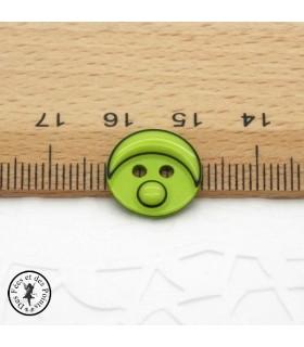 Boutons Smarties - Vert clair