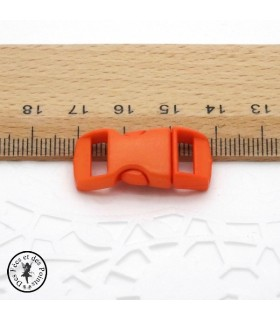 Boucle à clips - Sangle de 10 mm - Orange