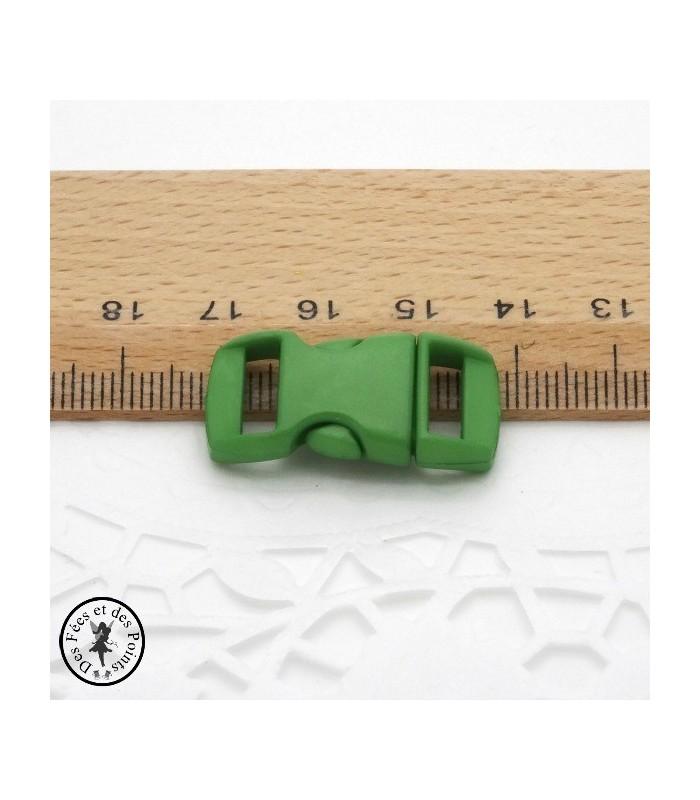 Boucle à clips - Sangle de 10 mm - Jaune