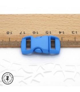 Boucle à clips - Sangle de 10 mm - Bleu