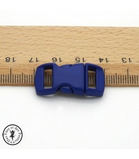 Boucle à clips - Sangle de 10 mm - Bleu
