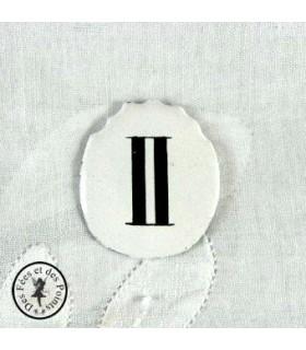 Chiffres d'horloge - Plaque Ovale II