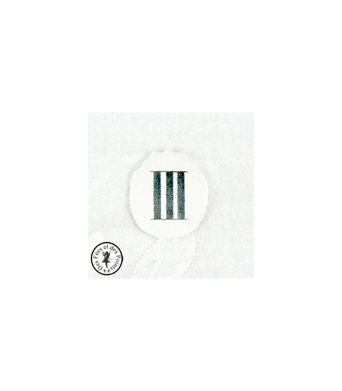 Chiffres d'horloge - Plaque Ovale III
