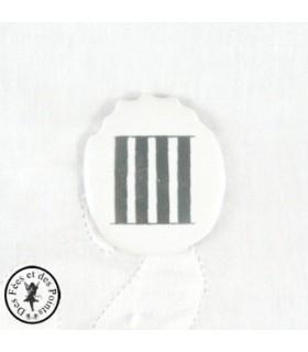 Chiffres d'horloge - Plaque Ovale IIII