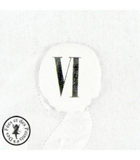 Chiffres d'horloge - Plaque Ovale VI