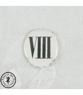 Chiffres d'horloge - Plaque Ovale VIII