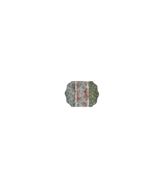 Coupons Jardin  orangé- Coton - 40 x 50 cm