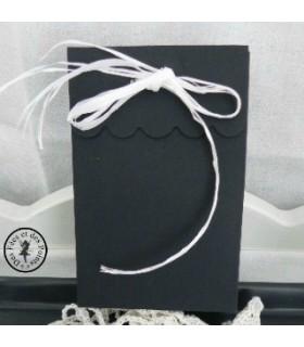 Boite cadeau noire matte
