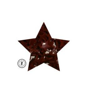 Pressions KAM - Etoile - Chocolat - B26