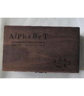 "Tampons ""Alphabet """
