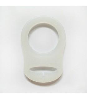 Adaptateur pour tétine/lolette - Blanc