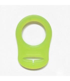 Adaptateur pour tétine/lolette - Vert jaune