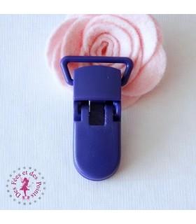 Pince attache tétine/lolette - KAM - Violet - B35