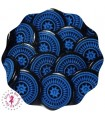 Pressions KAM - Rondes T5 Brillantes - Edelweiss Bleu/Noir