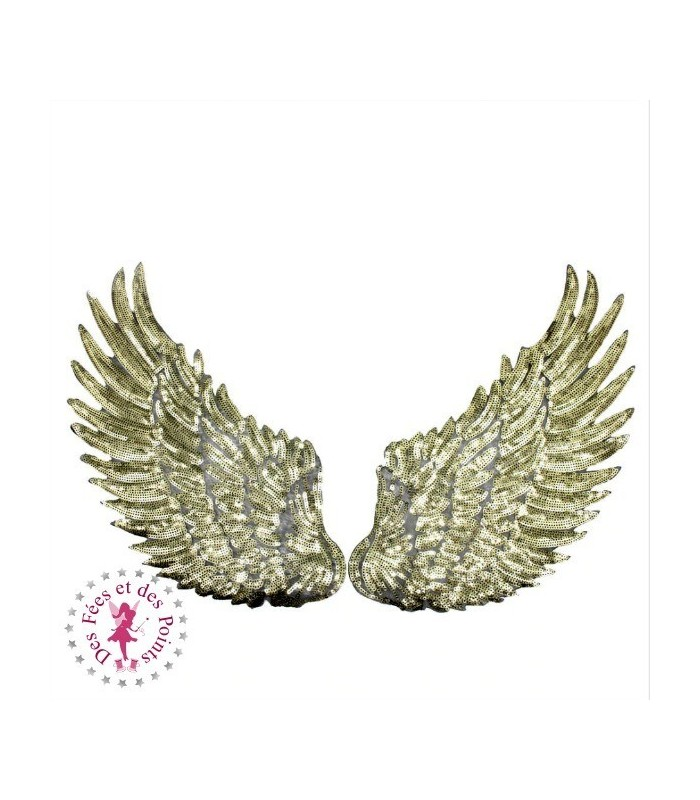 Ailes d'ange or