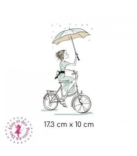 Transfert - A vélo sous la pluie